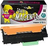 Yellow Yeti CLT-M404S Magenta 1000 páginas Tóner Compatible para Samsung Xpress SL-C430 C430W SL-C480 C480FN C480FW C480W [3 años de garantía]