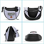 Zuukoo Pet Carrier, Dog Sling Bag Puppy Hands-free Sling Travel Carrier Bag with Adjustable Strap For Small Pets Perfect for Walking, Traveling or Daily Use 14
