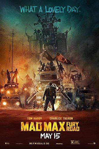 映画 マッドマックス 怒りのデス・ロード ポスター 約90x60cm Mad Max: Fury Road トム・ハーディ シャーリーズ・セロン [並行輸入品]
