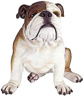 Design Toscano Buster The Bulldog British Decor Garden Statue, 16 Inch, Single