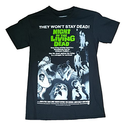Night of the Living Dead Poster Shirt for Men, S to 3XL