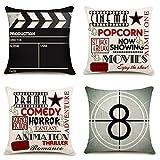 YOENYY Movie Theater Cinema Personalized Home Decor Design Throw...