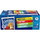 Capri Sun Coolers Variety Pack Ready-to-Drink Juice (40 Pouches, 4 Boxes of 10)