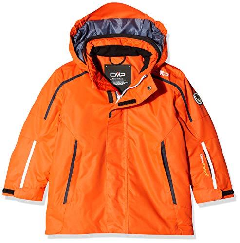 CMP Kinder Feel Warm Flat 3.000 Skijacke, Orange, 110