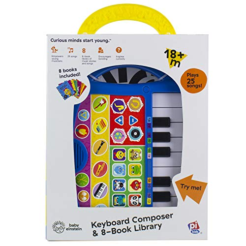 Baby Einstein Keyboard Composer & 8 Book Library - PI Kids