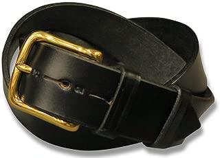 【 JABEZ CLIFF/ジャベツクリフ 】 スティラップレザーベルト (BLACK/ブラック) (幅広3.8cm) 3811 (日本正規輸入代理店商品)