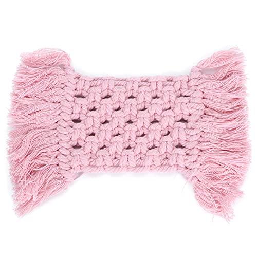 Shipenophy Napperon Anti-brûlure de Couleur réutilisable de Dessous de Verre d'isolation Thermique Facile à Nettoyer pour Le comptoir de(Pink, Rectangle)