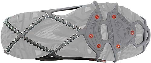 Couvre-Chaussures antidérapants Crampons en Acier Inoxydable légers et faciles à Porter