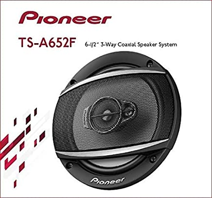 """$49 » Pioneer TS-A652F 6-1/2"""" 3 Way Coaxial Speaker System"""