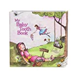 Baby Tooth Book 乳歯ケースブック bta0004 (Pink ラッピング/マリン)
