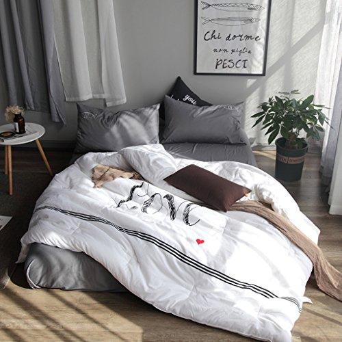 MMM Emballage à la broderie à l'hiver Quilt Edredon Noyau Coton épais Tenir doux Doublé au printemps et à l'automne (taille : 200 * 230cm(3.5kg))