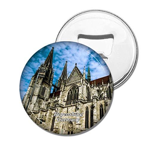 Weekino Deutschland Dom St. Peter Regensburg Bier Flaschenöffner Kühlschrank Magnet Metall Souvenir Reise Gift