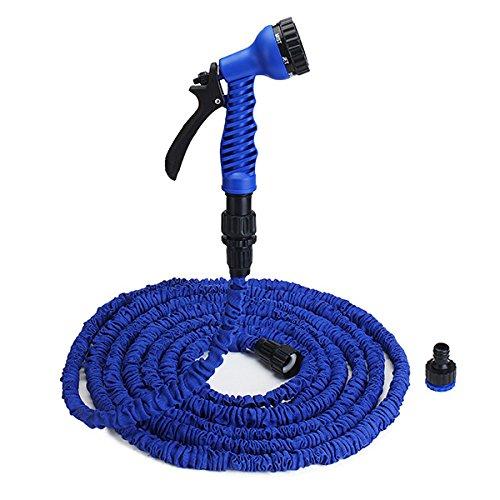 Bluelover 25 50 75 100 Ft Flexibel Erweiterbaren Garten Wasser Schlauch-Sets Eu/U.S. Standard -Eu - 100 Ft