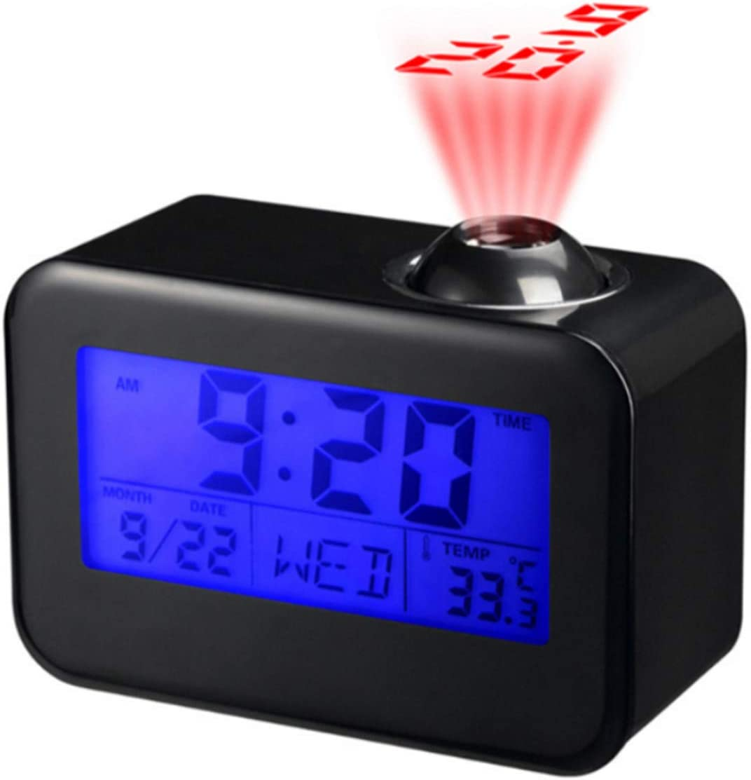 SH-RuiDu Projector Clock Durable LED Timekeeping NEW Voice 2021 autumn and winter new Digital