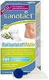 sanotact Ballaststoff Aktiv Pulver • 200g Inulin Pulver aus der Chicoree-Wurzel & Akazienfaser • 100% natürlich • Ballaststoff Pulver Vegan, Gluten- & Laktosefrei