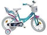 Vélo 16'' fille licence Frozen/Reine des Neiges -  2 freins