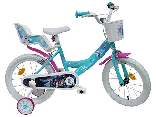 Disney Frozen Bicicletta Bambina Multicolore, 16'