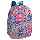 Trail maker Girls' All Over Printed Backpack 17 Inch With Padded Straps