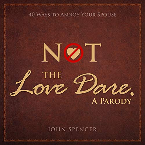 Not the Love Dare: A Parody cover art