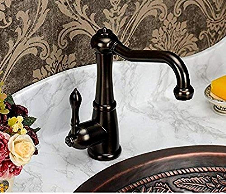 360 ° drehbarer Wasserhahn Retro Wasserhahn Nachahmung Klassische Küche Balkon Becken Und Becken Schwenkbar Bronze Heie Und Kalte Wasserhahn Voller Kupferhahn