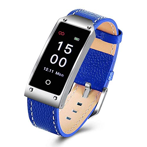 NILINMA Smart Watch,Waterproof Smart Bracelet GPS,Heart Rate Blood Pressure Monitor,Bluetooth Pedometer,Best Gift