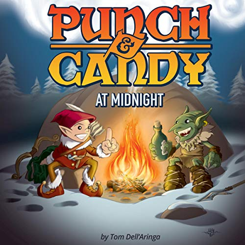 Punch & Candy at Midnight audiobook cover art