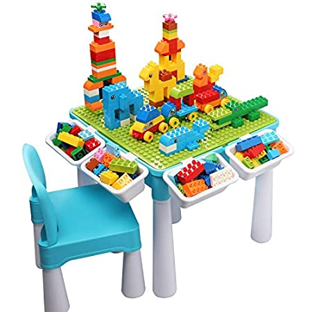 burgkidz 5-in-1-Kinder-Aktivitäts-Tischset
