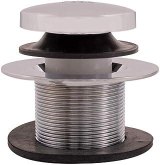1-1//2-inch Chrome Finish Eastman 35203 20-Gauge Sturdy Lift and Lock Brass Bath Waste