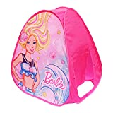Sunny Days Entertainment Barbie Dreamland Pop Up Play Tent – Pink Indoor Playhouse for Kids | Gift for Girls