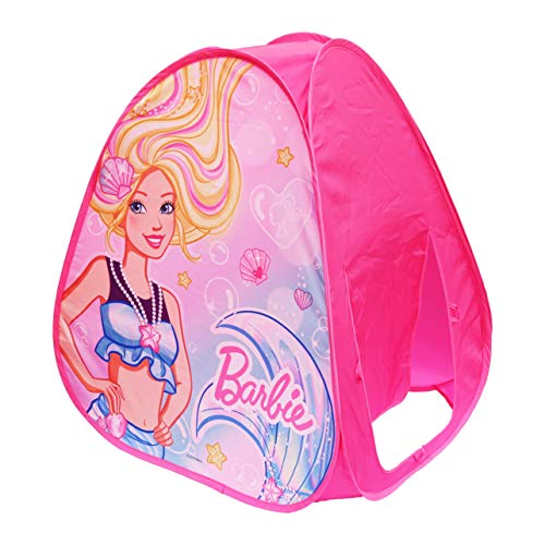 Sunny Days Entertainment Tienda de campaña Barbie Dreamland Pop Up Play – Casa de Juegos para Interiores Rosa para niños   Regalo para niñas