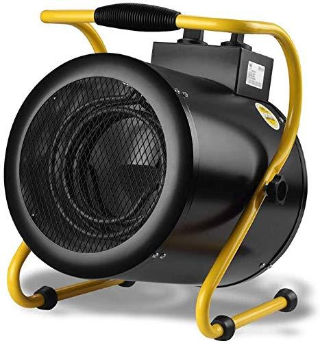 BD.Y Calentadores industriales, Calentadores de Alta Potencia Calentadores industriales para Planta/Garaje/Granja, 3 Opciones de Voltaje 1200W / 600W (Tamaño: 52/4500 / 9000W)