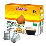 50 Cápsulas Ristora Orzo Biológico compatibles con cafeteras Nespresso.