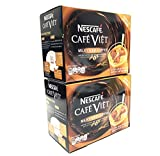 Nescafe Cafe Viet Milky Iced coffee instant coffee & Creamer drink mix - 14 Packets/ 9.87oz | 2...