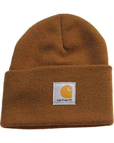 Carhartt Men's Watch Hat, Brown, One Size