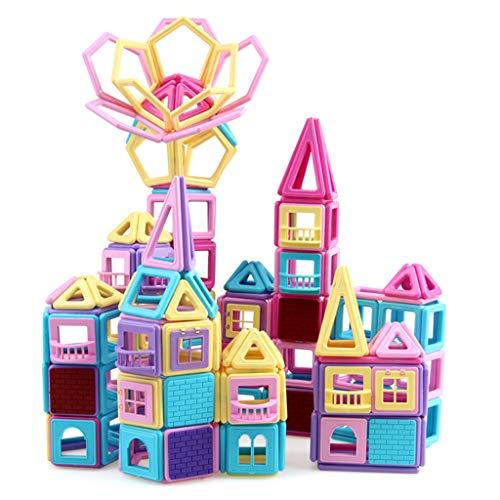 Briques de construction magnétiques, 240 pièces, pièce magnétique pour enfants, combinaison de blocs de construction, combinaison de jouets pour garçons et filles de 3-6-8 ans, envoyer une boîte de