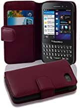 Cadorabo Case Works with BlackBerry Q5 (Design Book Structure) - with 2 Card Slots - Wallet Case Etui Cover Pouch PU Leather Flip PASTEL-PURPLE DE-100608