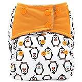 VJGOAL Niños Pañales Lavable Reutilizables 0-3 años Braguitas de Aprendizaje Impresos Pantalones de Entrenamiento Ajustables Bragas Ropa Interior de Bebés
