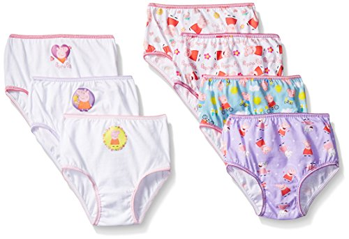 Toddler Girls Peppa Pig 7pk Briefs - 4T