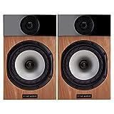 Fyne Audio F300 - Altoparlanti per scaffali, colore: quercia