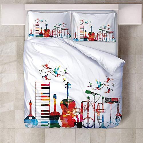 PERFECTPOT Bettbezug Instrument Musi...