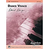 Alfred 00-18870 Dance Vivace - Music Book