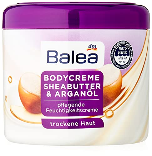 Balea Pflegecreme Sheabutter Bodycreme, 500 ml
