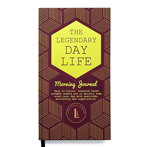 Legendary Day Life and Night Life Morning and Evening Journals by Legendary Life (Legendary Day Life Morning Journal, Case Bound (Hard Cover with Traditional Binding)