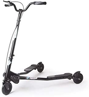 comprar comparacion AOODIL Scooter abatible Plegable de 3 Ruedas para niños Tri Slider Kick Speeder Scooters Push Drifting con manija Ajustabl...