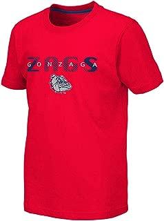 Colosseum Youth Gonzaga Bulldogs Tucuman Short Sleeve Tee Shirt