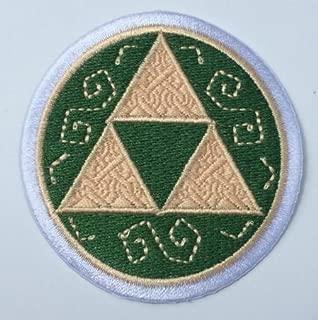 Complete Triforce Iron-Patch Applique Legend of Zelda