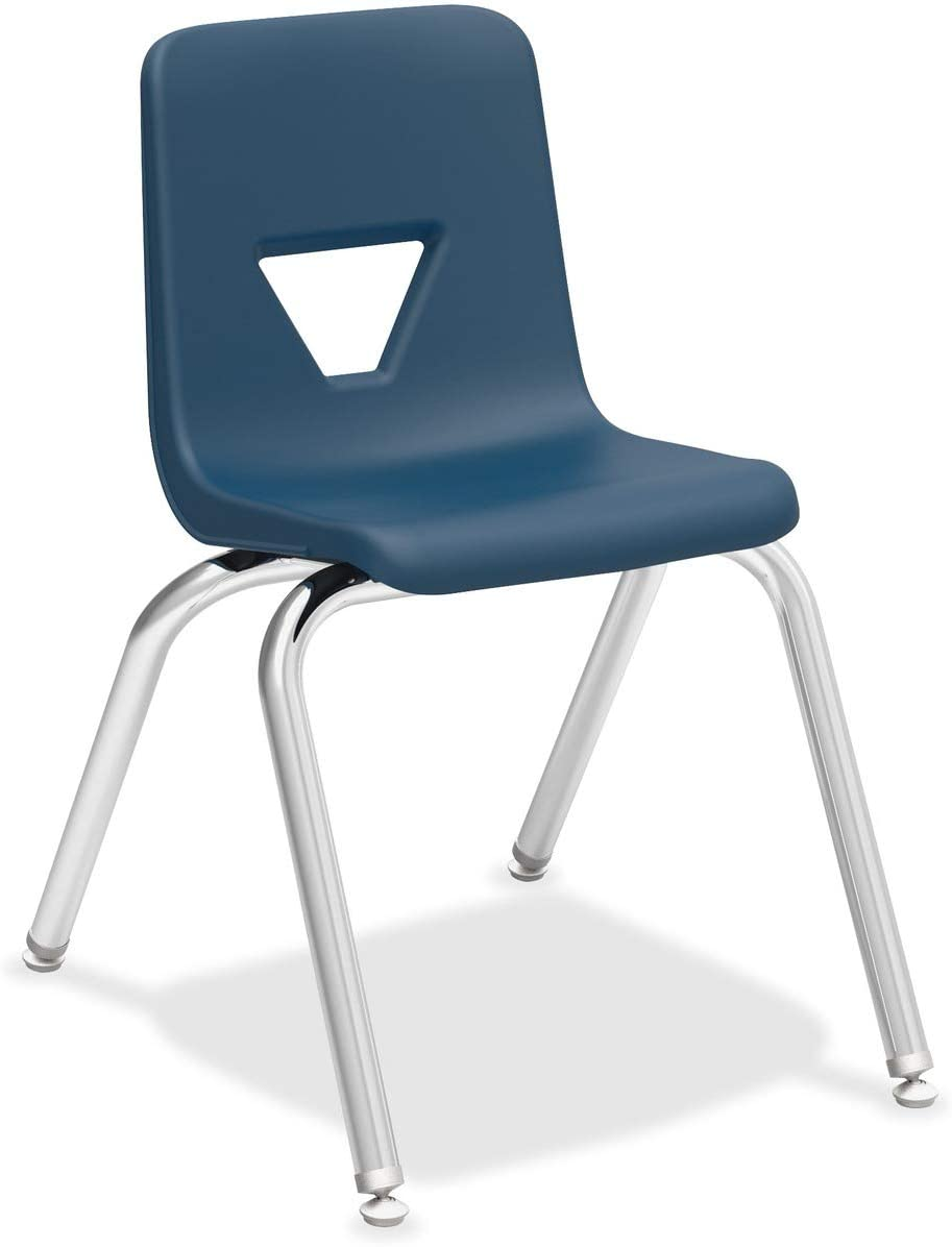 LLR99887 - Lorell 16 Seat-height 4 Indianapolis NEW before selling ☆ Mall CT Stacking Chairs Student