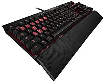 Corsair Gaming K70 Mechanical Gaming Keyboard Backlit Red LED Cherry MX Blue  CH-9000076-NA