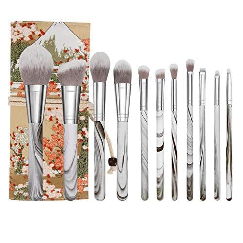 TYWZJ Professionelle Make Brushes Kit 11-12 Stück Makeup Brushes für Foundation Eyeshadow Eyebrow...