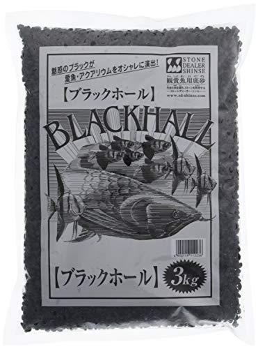 ストーンディーラーシンセー 観賞魚用底砂 ブラックホール 3kg